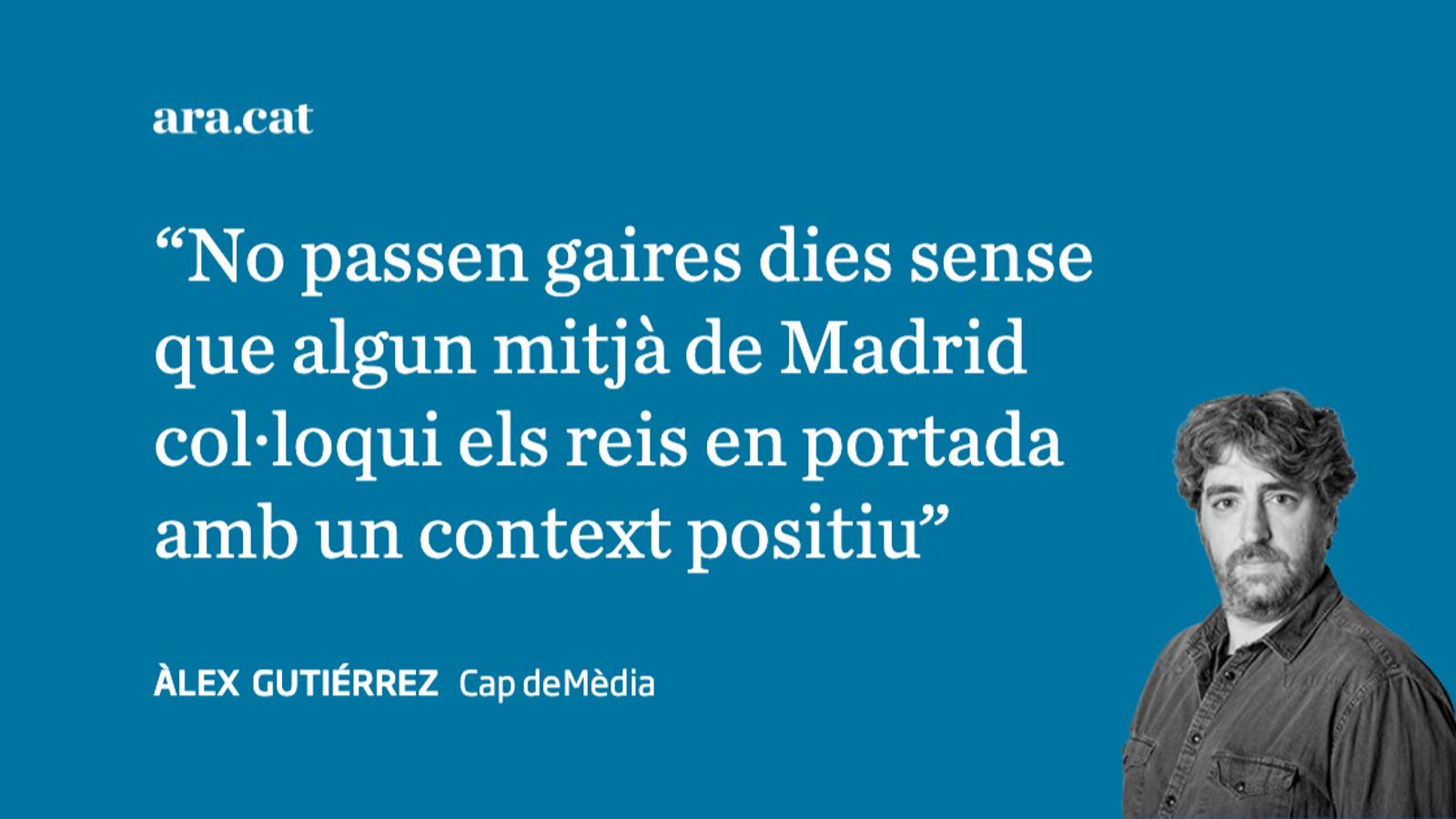 Els diaris i Felip VI promocionen el turisme interior