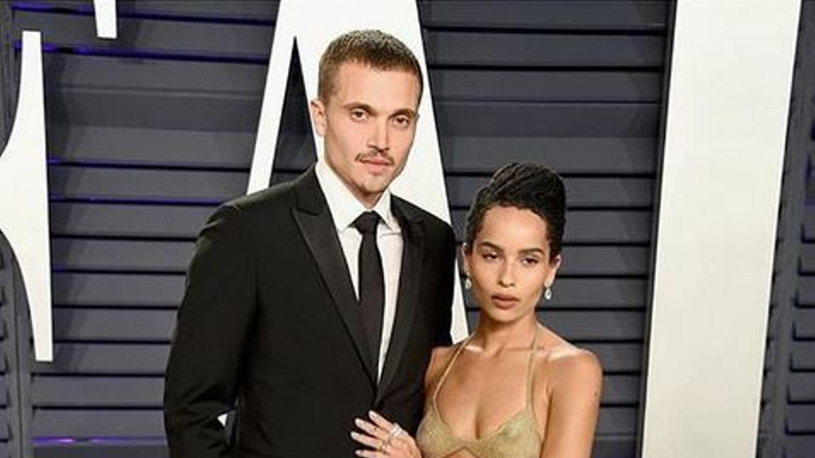 Zoë Kravitz i el seu marit