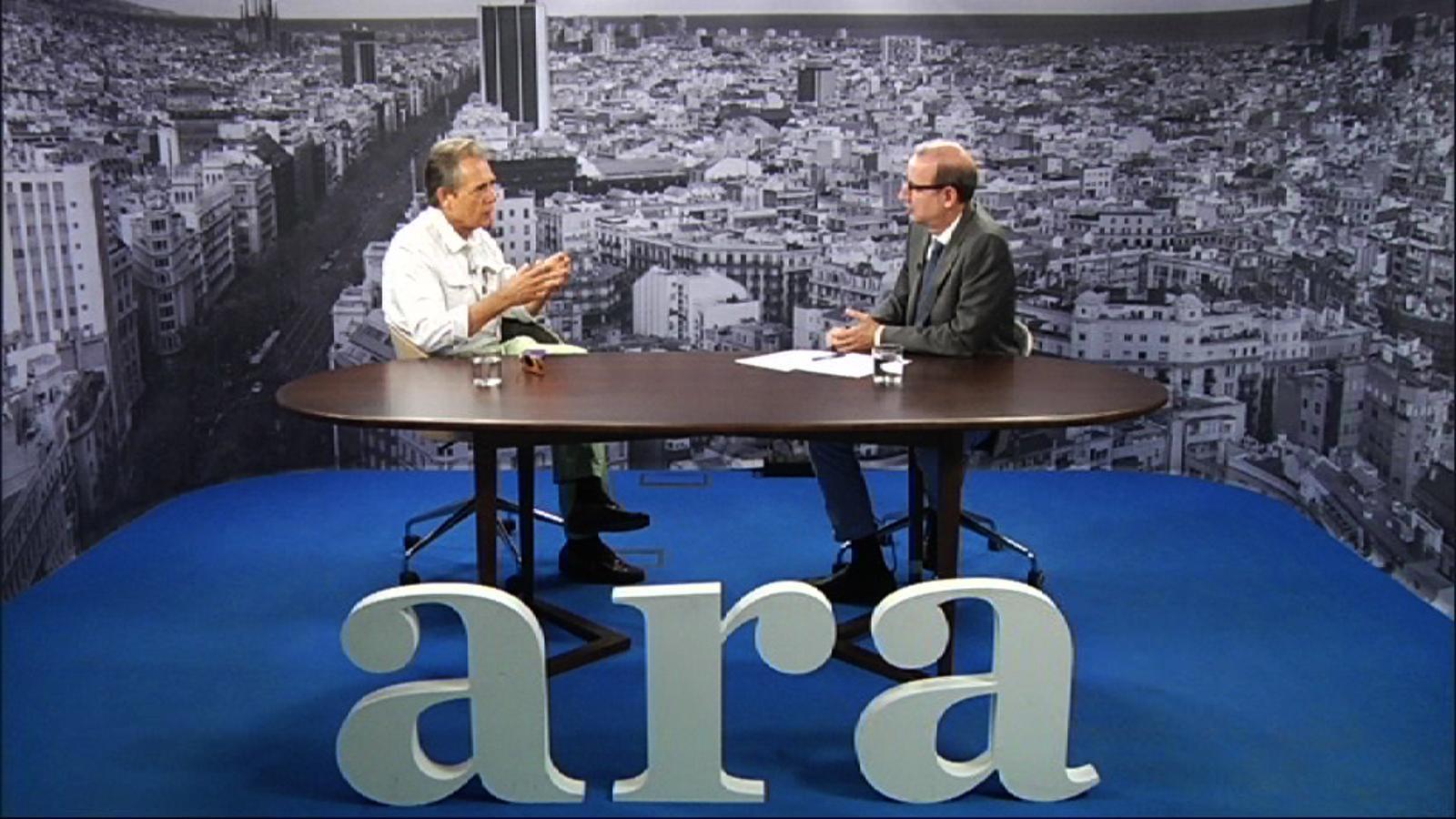 Entrevista d'Antoni Bassas a Joan Pere Viladecans