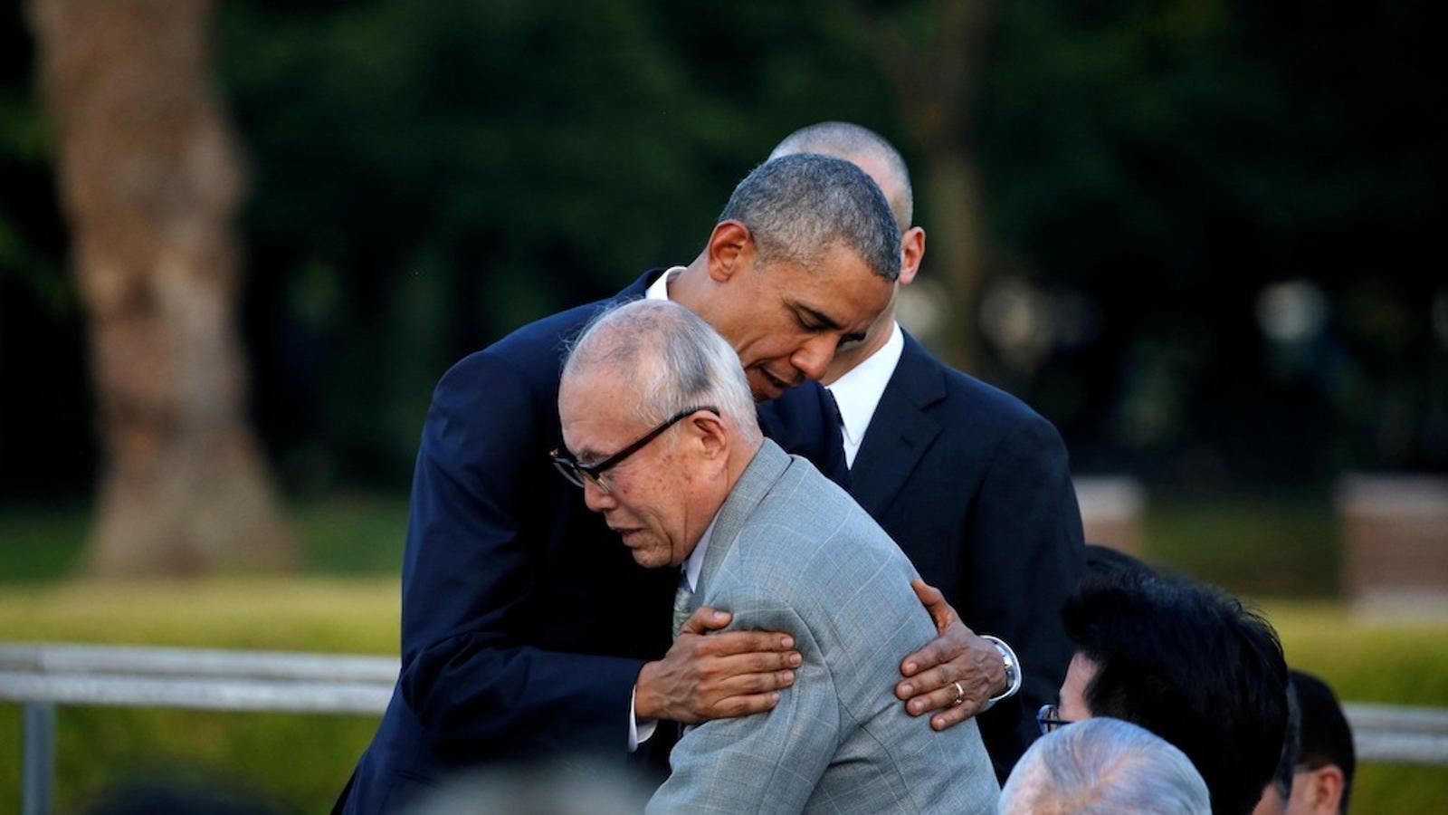 """Obama a Hiroshima: """"La memòria de les víctimes mai pot desaparèixer"""""""