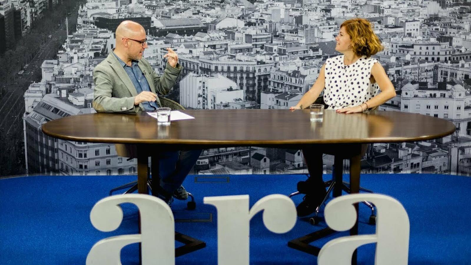 Entrevista de David Miró a Elisenda Alamany