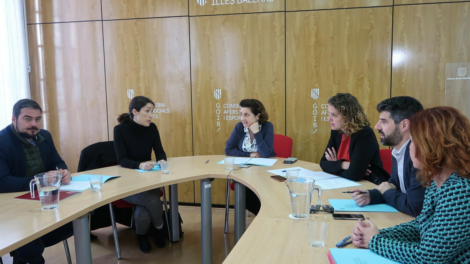 Reunió de la Comissió Interinsular de Protecció de Menors