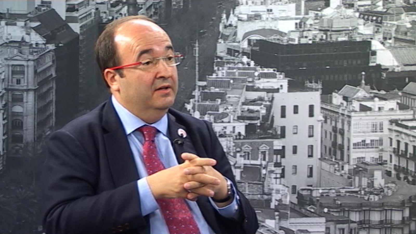 Miquel Iceta: L'estat plurinacional i el pacte fiscal federal no són la tercera via, són l'única possible