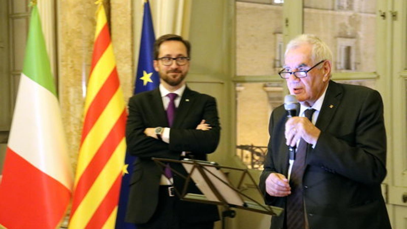 """Maragall reobre la delegació a Roma i reconeix que plegarà com a conseller """"aviat"""""""