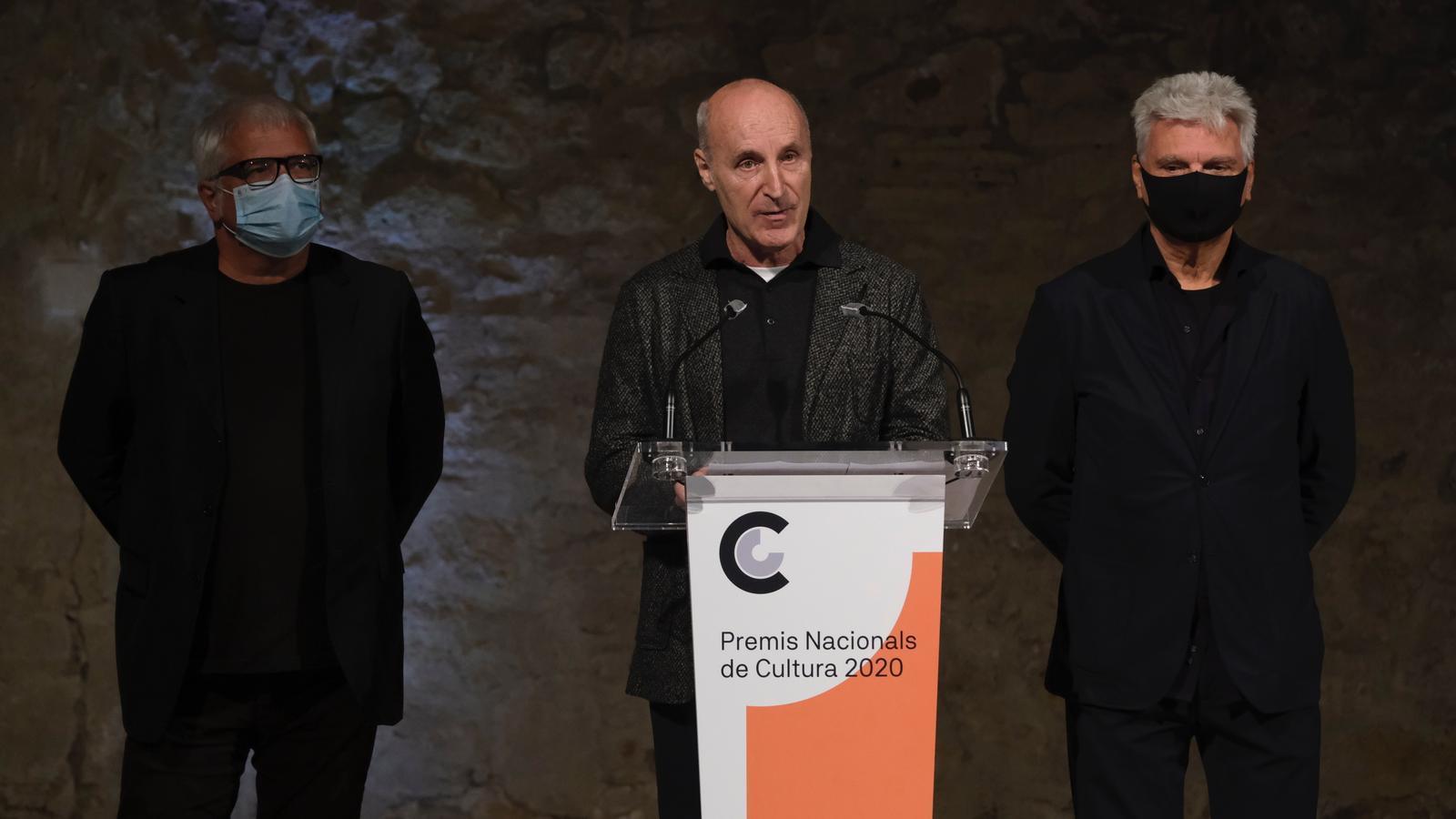 Maria del Mar Bonet, Carla Simón i Tricicle, Premis Nacionals de Cultura 2020