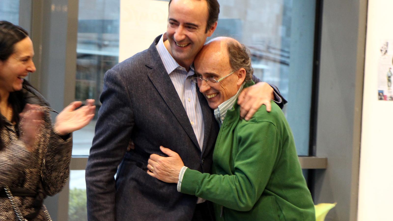 El cònsol major de la Massana, David Baró, anuncia que el comú dedicarà el museu a Joan Pieras. / T. N.