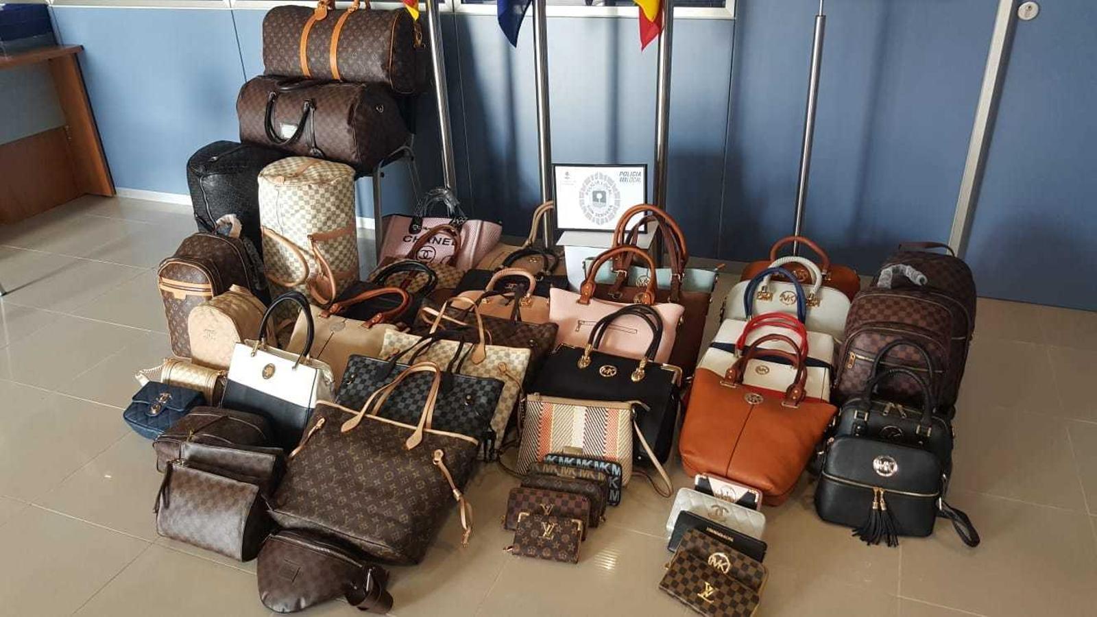 La  majoria de peces decomissades són falsificacions de productes de marca.