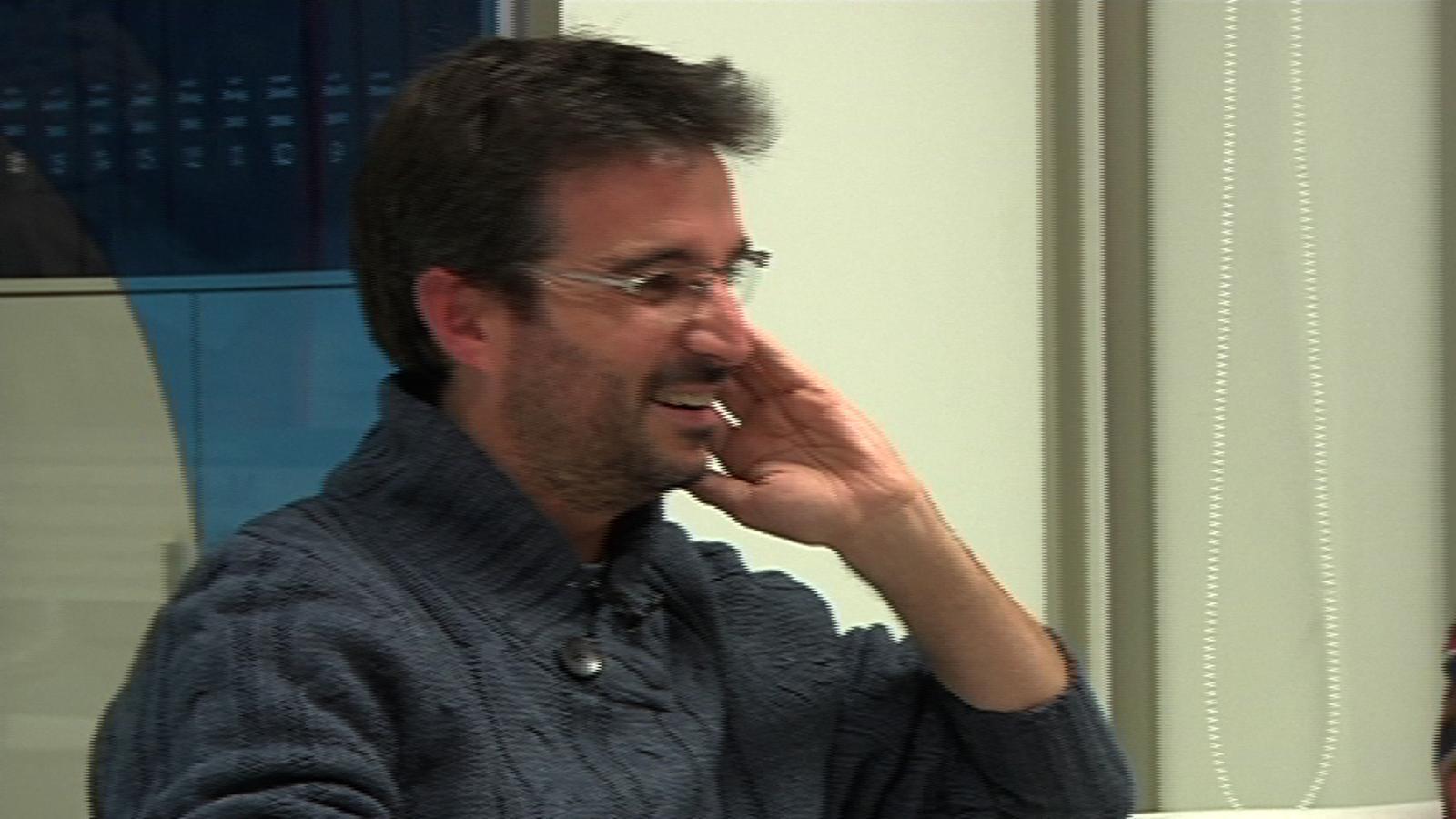 Jordi Basté, a Jordi Évole, sobre 'Salvados': Veig el programa i penso que algun dia et trencaran les cames