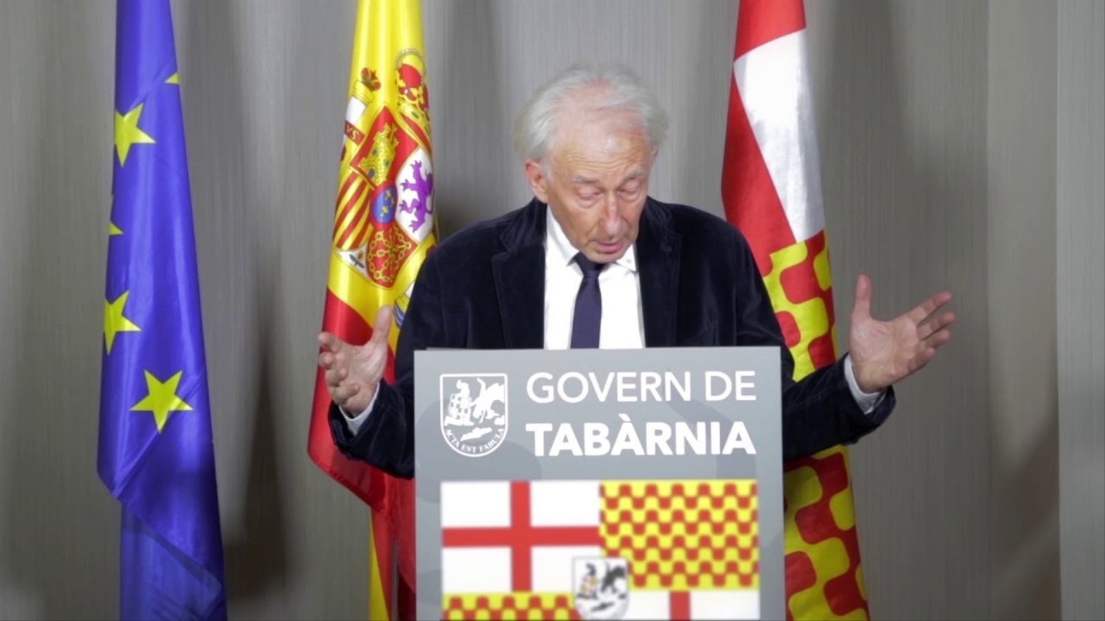 Discurs d'Albert Boadella en la presentació de Tabàrnia