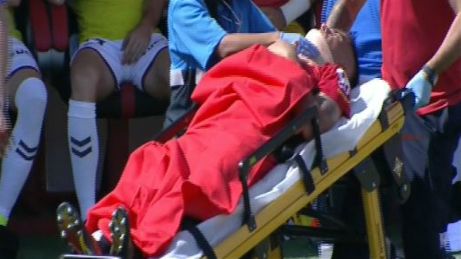 Xisco Campos pateix un traumatisme cranioencefàlic