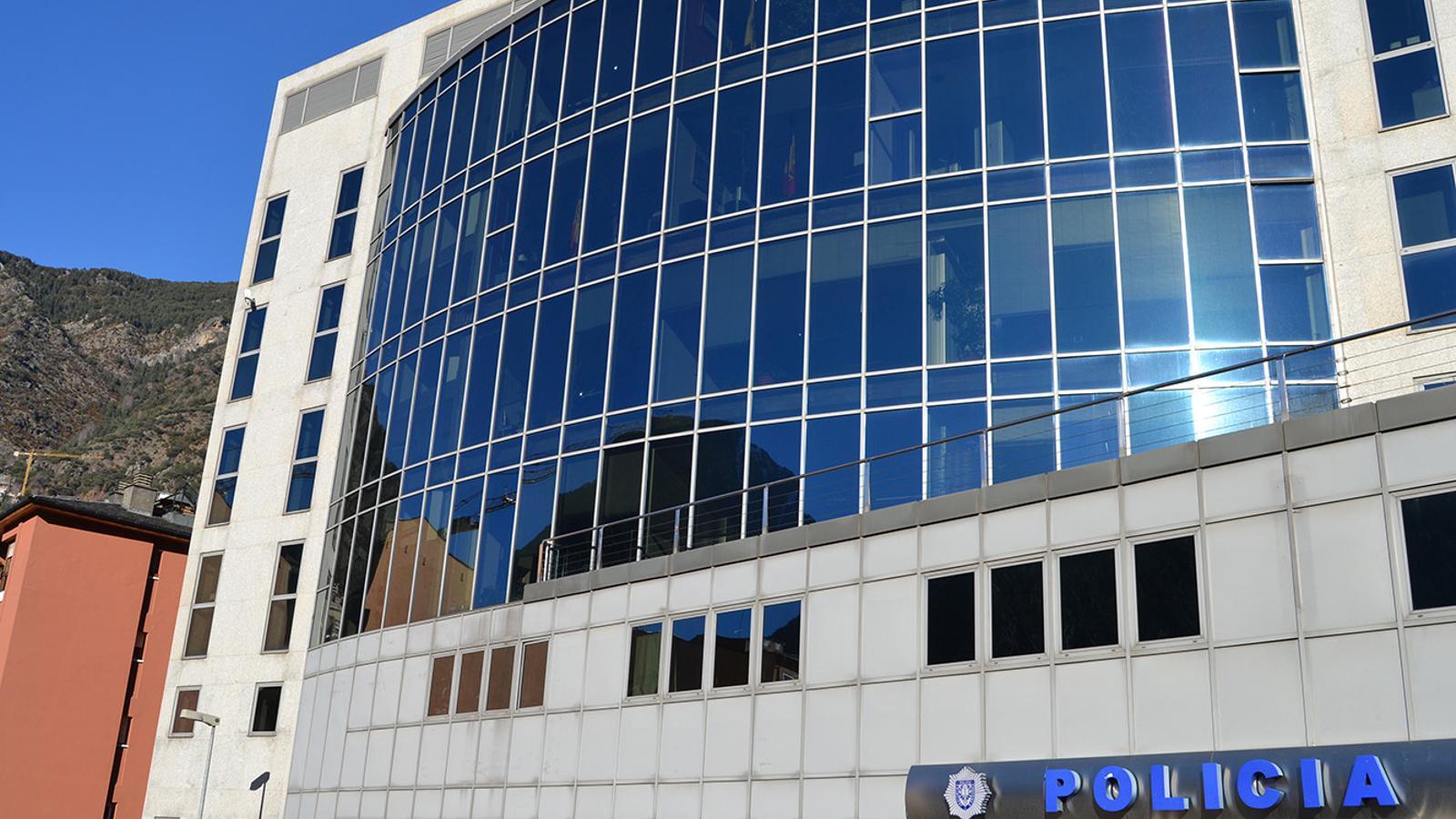 Una imatge de l'edifici de la policia. / ANA