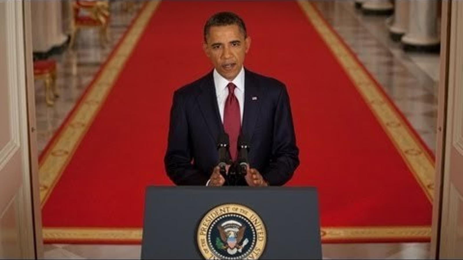 El president confirma la mort d'Osama Bin laden