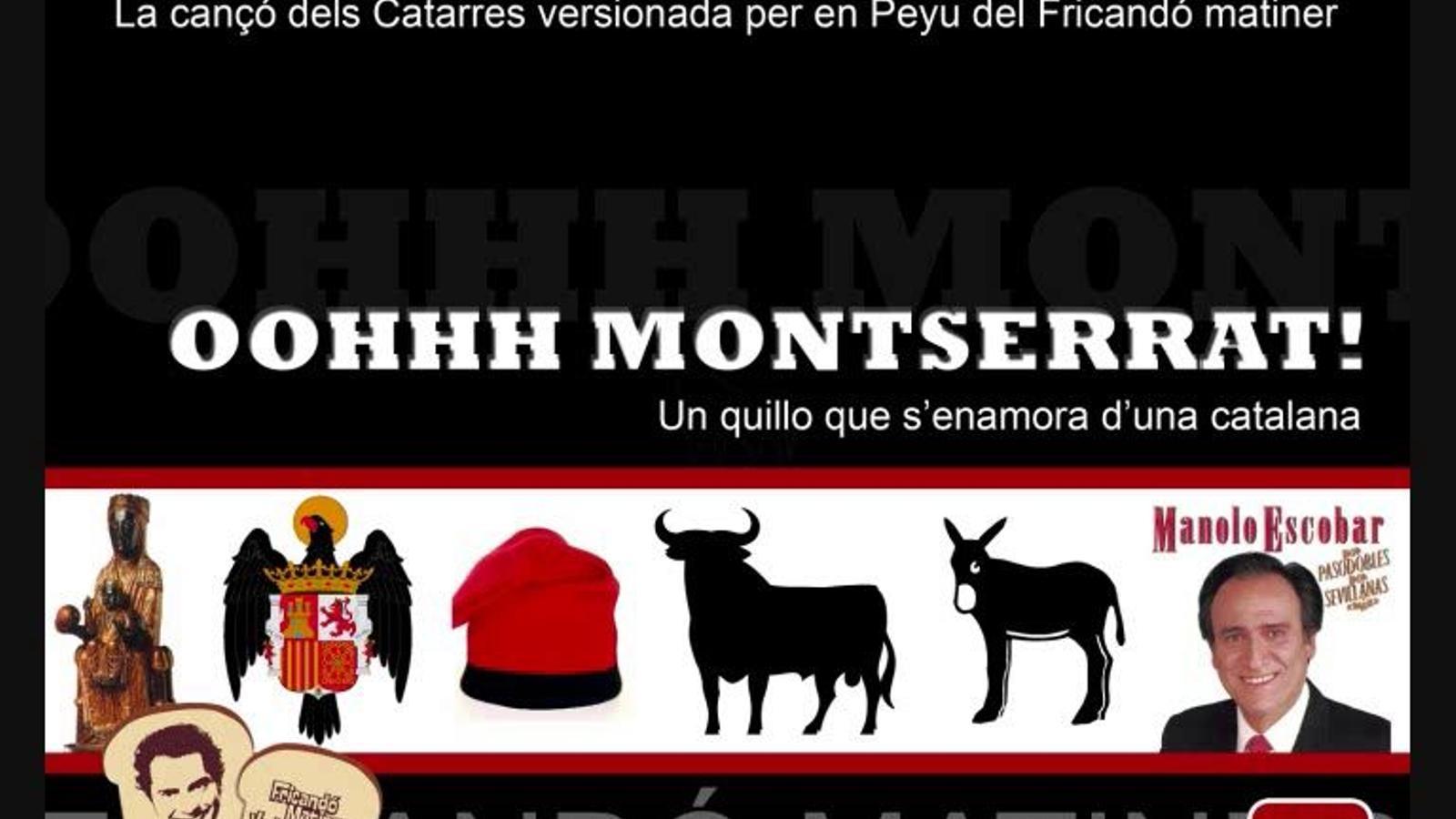 'Oh, Montserrat', la versió de la Jennifer feta pel Fricandó Matiner