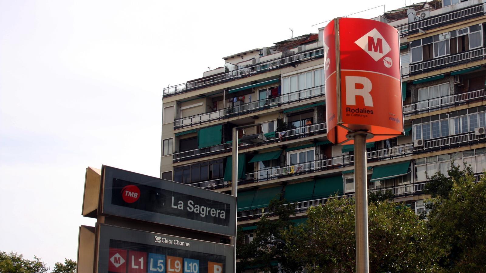 Agressió racista contra dos joves a la Sagrera