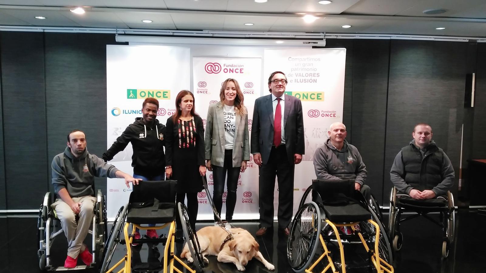 La Fundació ONCE està impulsant el foment de l'activitat esportiva entre la població jove amb discapacitat