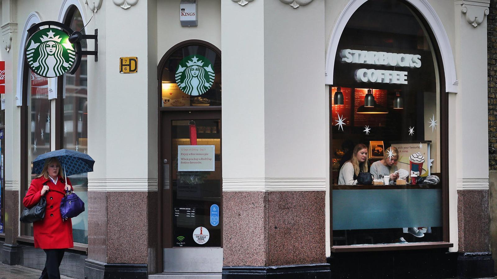 Grans cadenes dels Estats Units, com Starbucks, estan al punt de mira dels usuaris de la web IWasPoisoned.