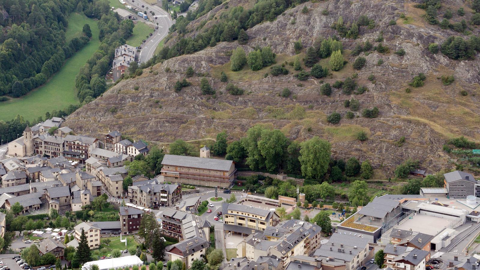 Vista general del poble d'Ordino. / Arxiu ANA
