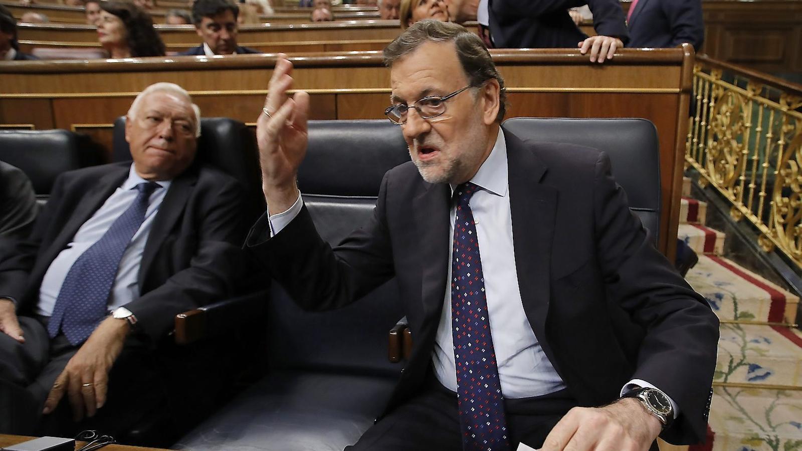 """Rajoy no defensarà el 'no' a la moció de censura contra ell al Congrés: """"Replicar, jo? Jo no replico ningú"""""""