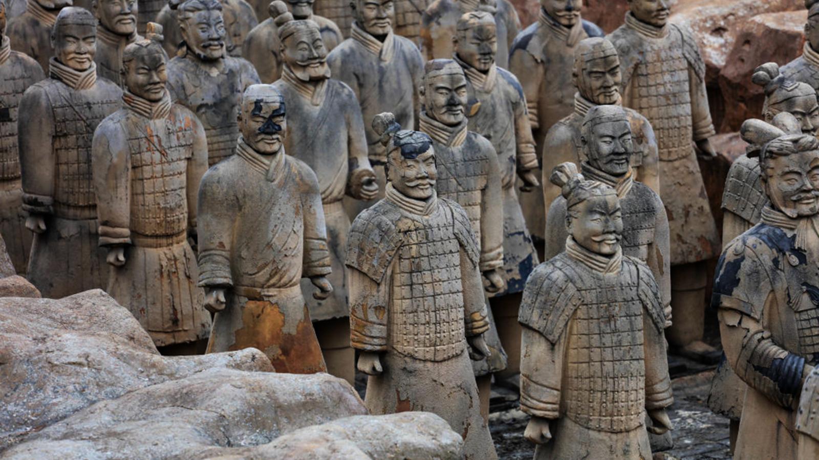Els guerrers de Xian tenen més de 2.000 anys d'antiguitat