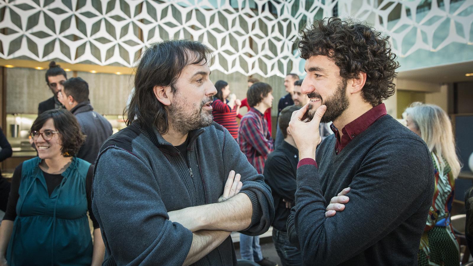 Isaki Lacuesta i Miki Esparbé
