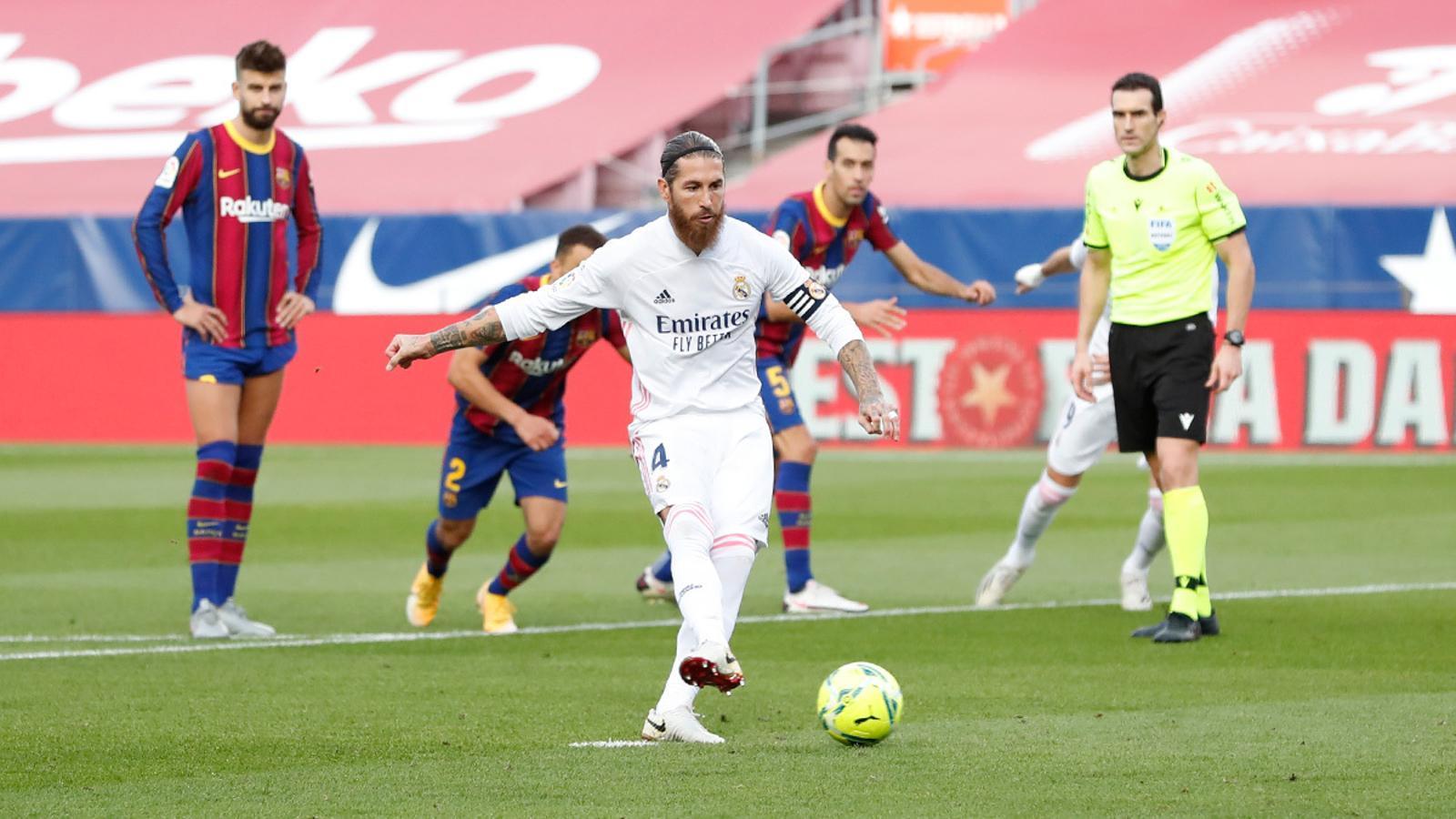 Sergio Ramos, el VAR i l'altaveu mediàtic