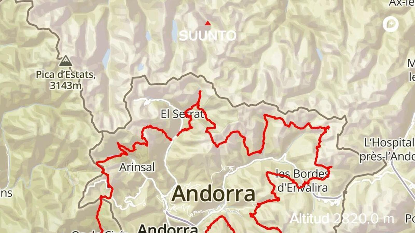 La ruta dels '26+1'. / ARA