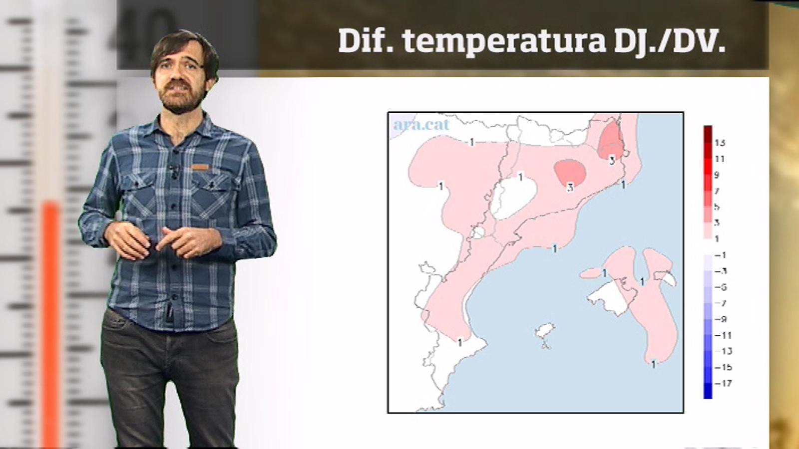 La méteo en 1 minut: cap de setmana amb matins clarament d'hivern