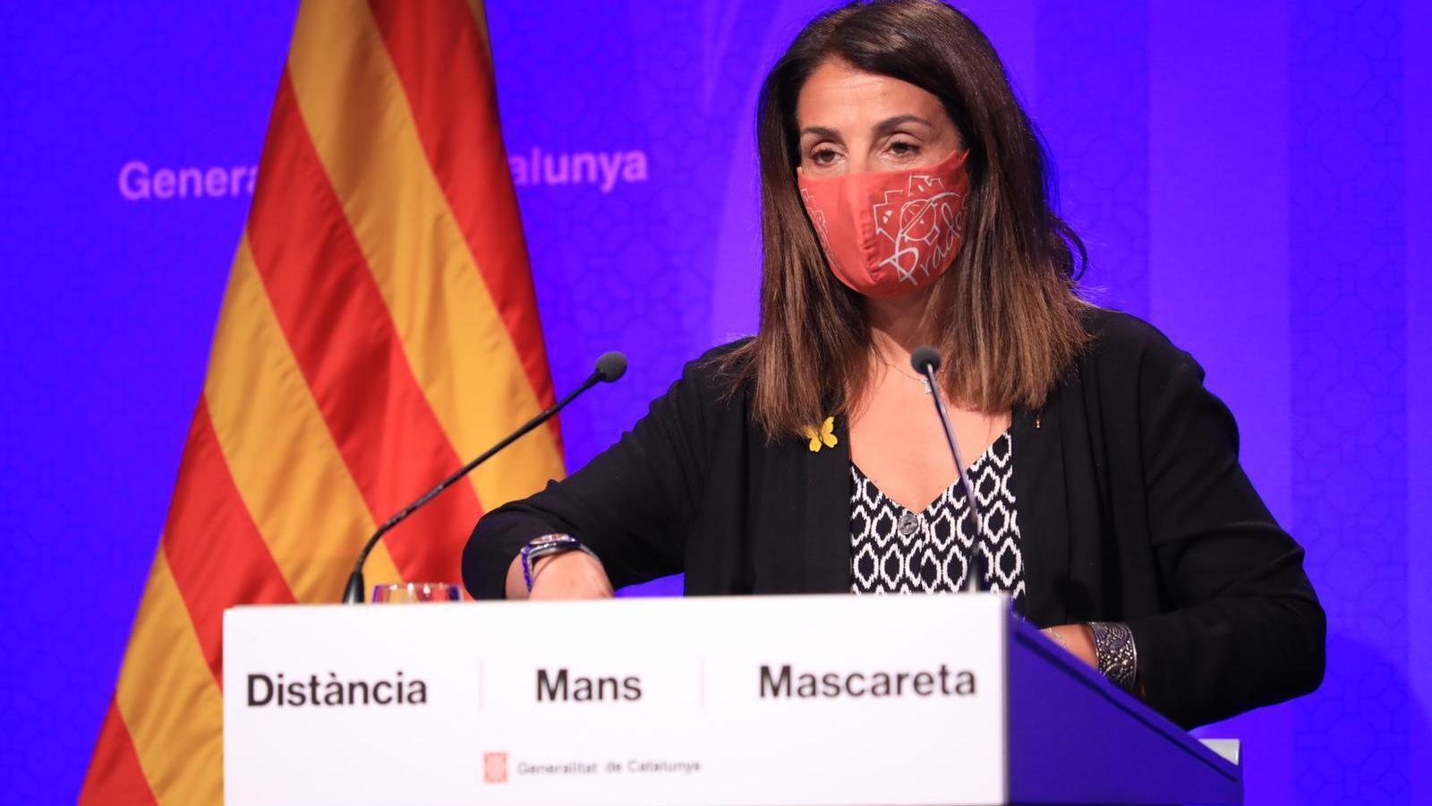 EN DIRECTE |  Budó compareix després del consell executiu d'aquest dijous
