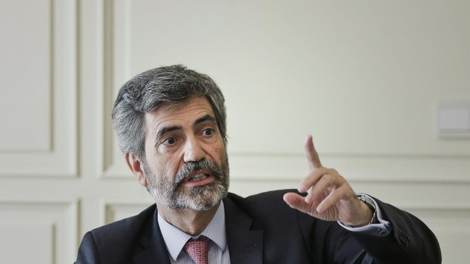 Lesmes força amb el seu doble vot el 'no' a la participació del jutge De Prada a la vista breu de Gürtel