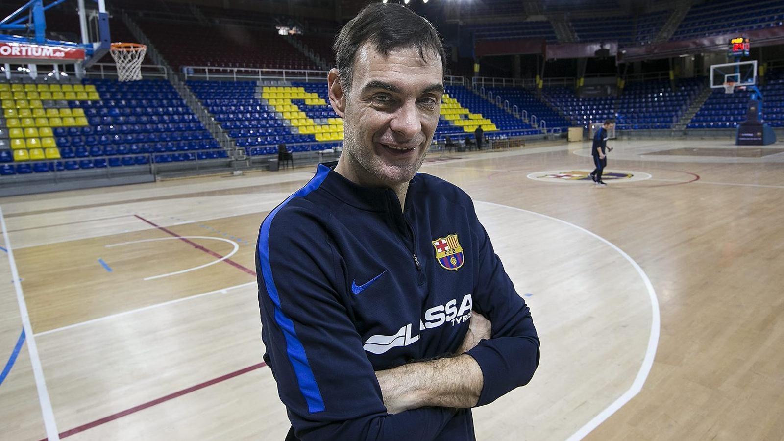 Georgios Bartzokas, entrenador del Barça Lassa.