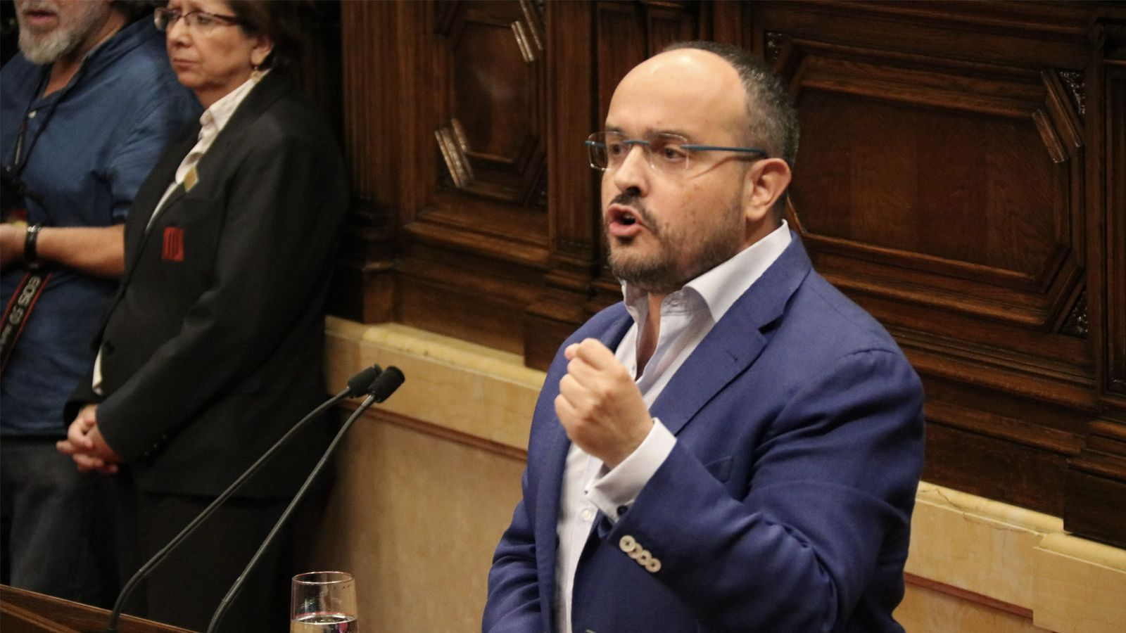 """Fernández: """"Senyor Torra, vostè i jo som dos trossos d'espanyolassos"""""""