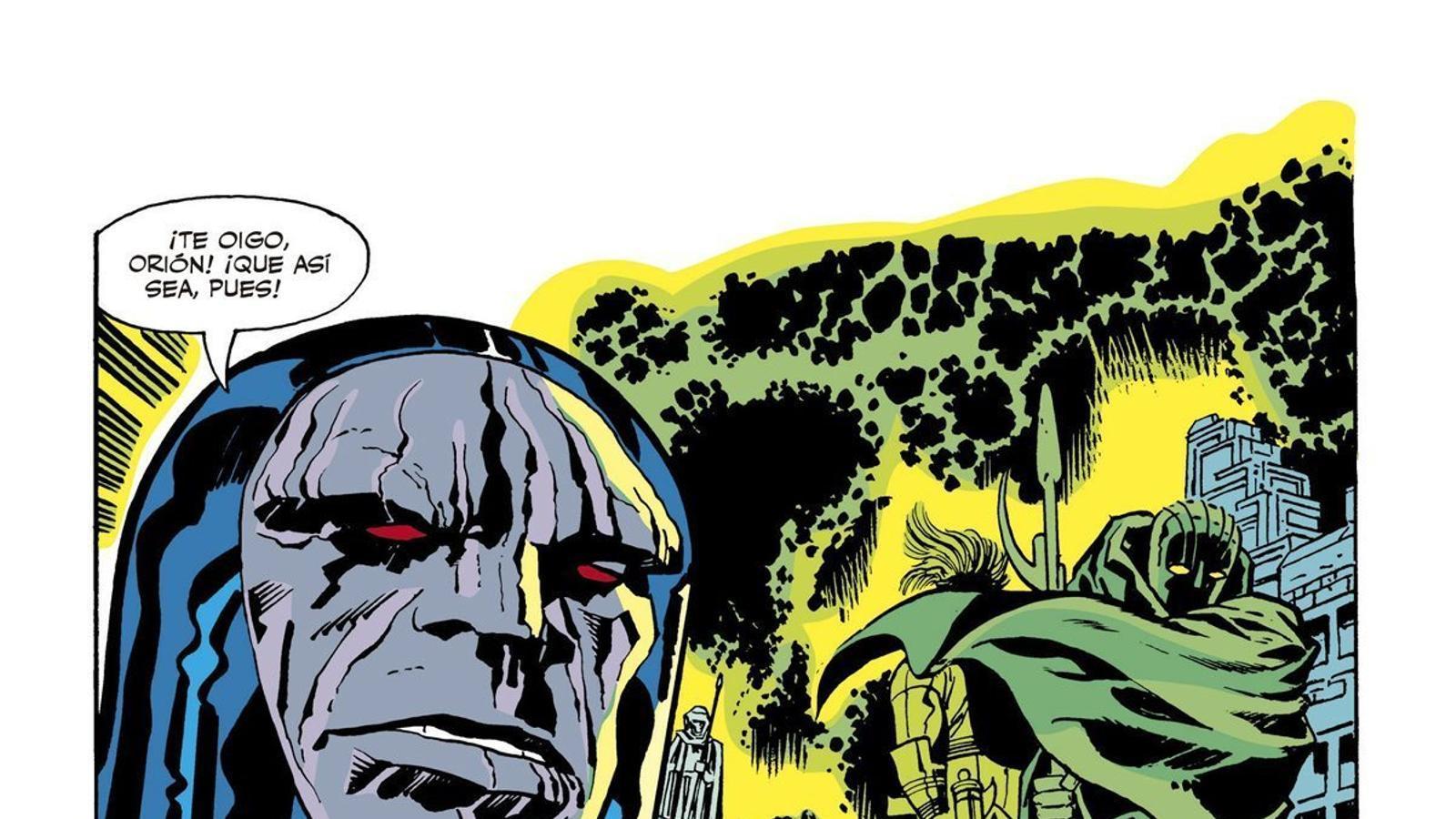 Es reedita 'El Quart Món' de Jack Kirby, el fundador d'universos