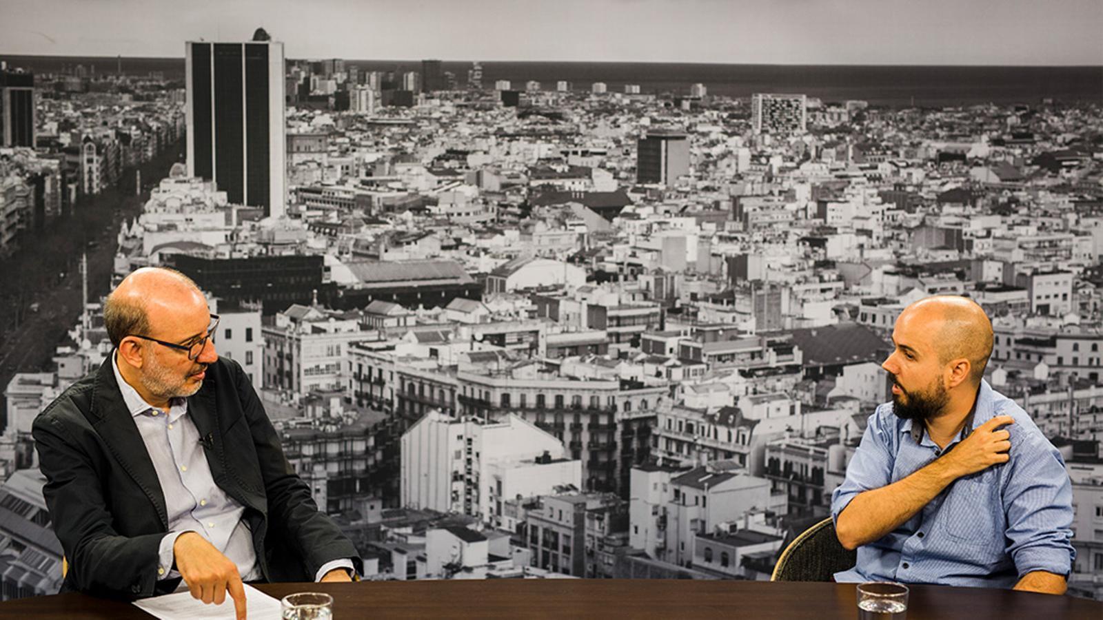 """Salvador Lladó: """"La majoria dels investigadors de la meva generació som fora"""""""