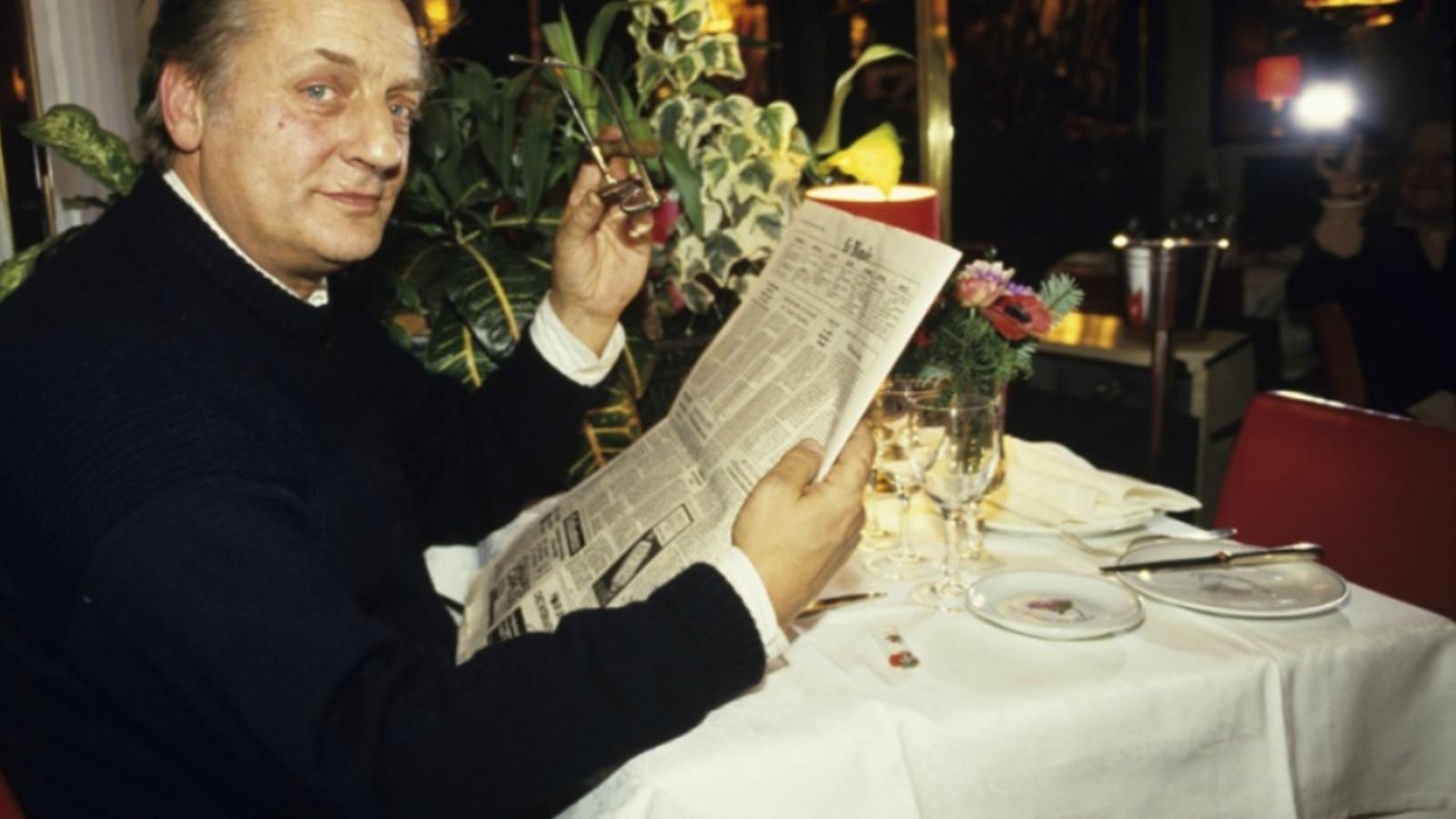 Maigret en l'adaptació televisiva de 1991 amb Bruno Cremer