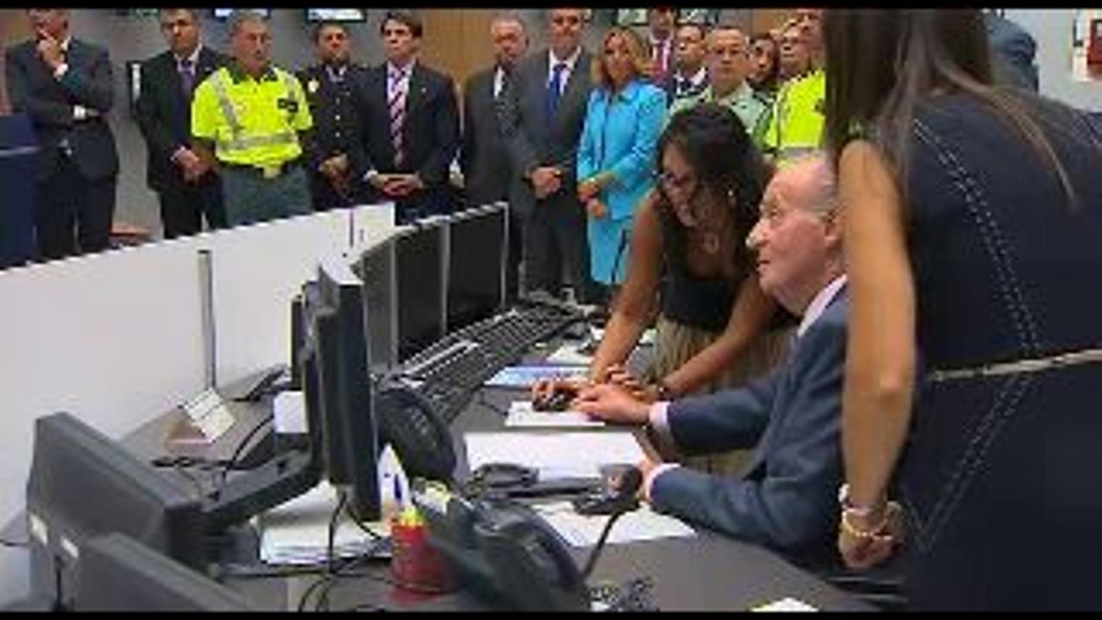 El missatge de Joan Carles I als helicòpters de la DGT: Tots necessitem que ens vigileu