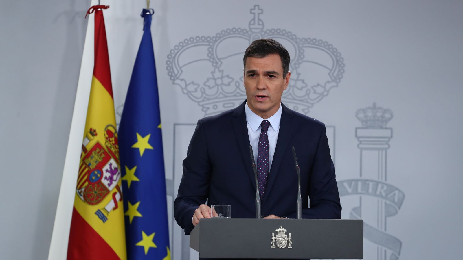 EN DIRECTE | Compareixença de Pedro Sánchez