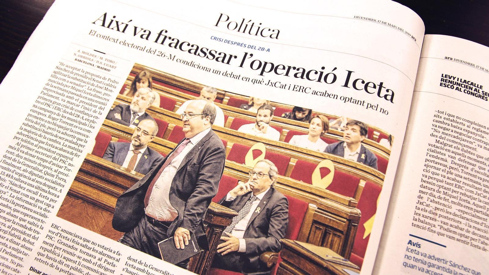 L'anàlisi d'Antoni Bassas: 'Ara que ha fracassat el bunyol de l'operació Iceta'