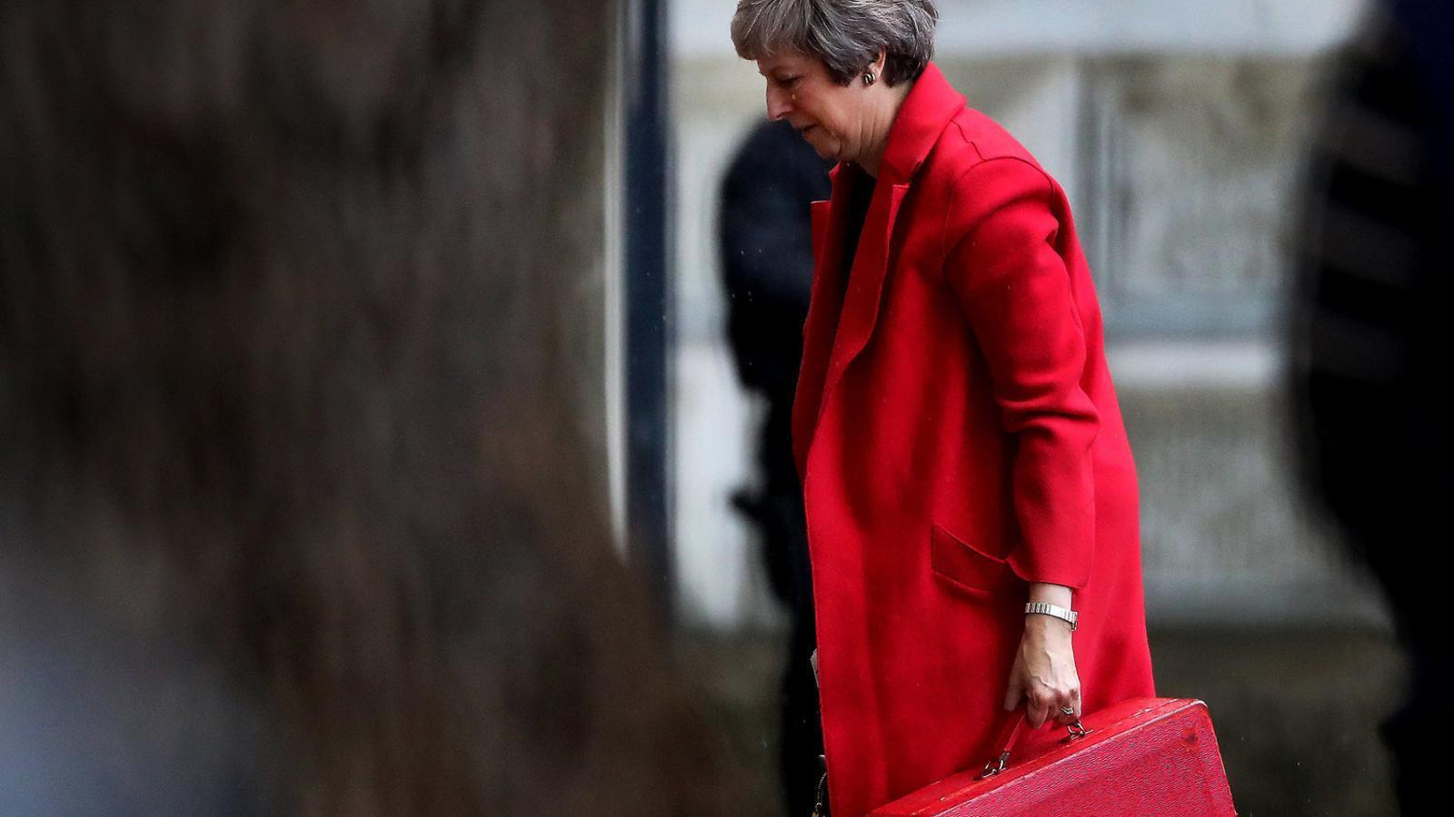 La lenta agonia de Theresa May