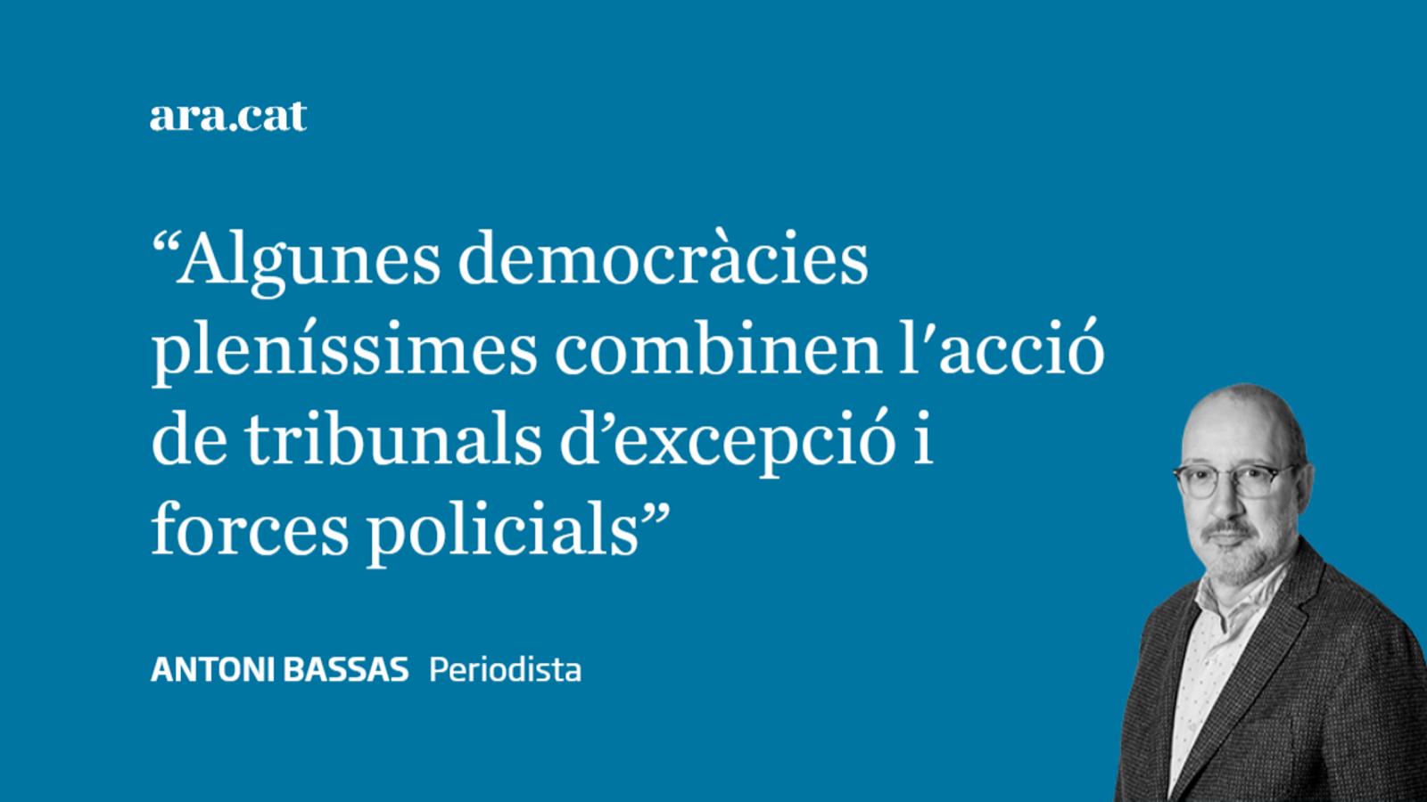 """""""A Espanya no es persegueix ningú per les seves idees"""""""