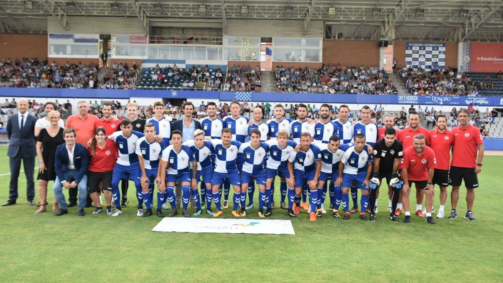 El Sabadell 18-19 s'ha presentat a la Nova Creu Alta