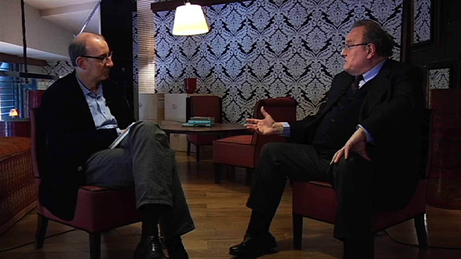 Entrevista d'Antoni Bassas a Miquel Sellarès