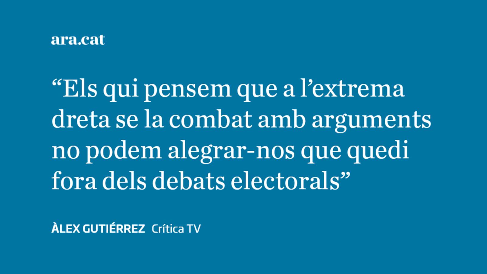 Els debats ja tenen perdedor i guanyador: Sánchez i Abascal