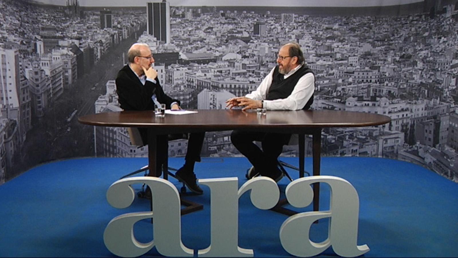 Entrevista d'Antoni Bassas a Josep Maria Pou