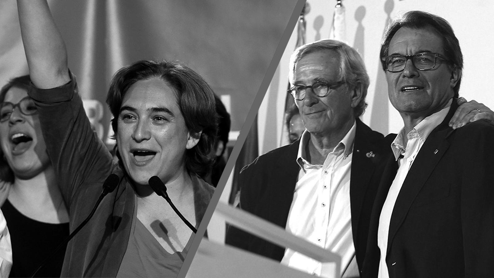 L'editorial d'Antoni Bassas: Trias sap que Colau serà alcaldessa, però li recorda que ha de pactar (28/05/2015)