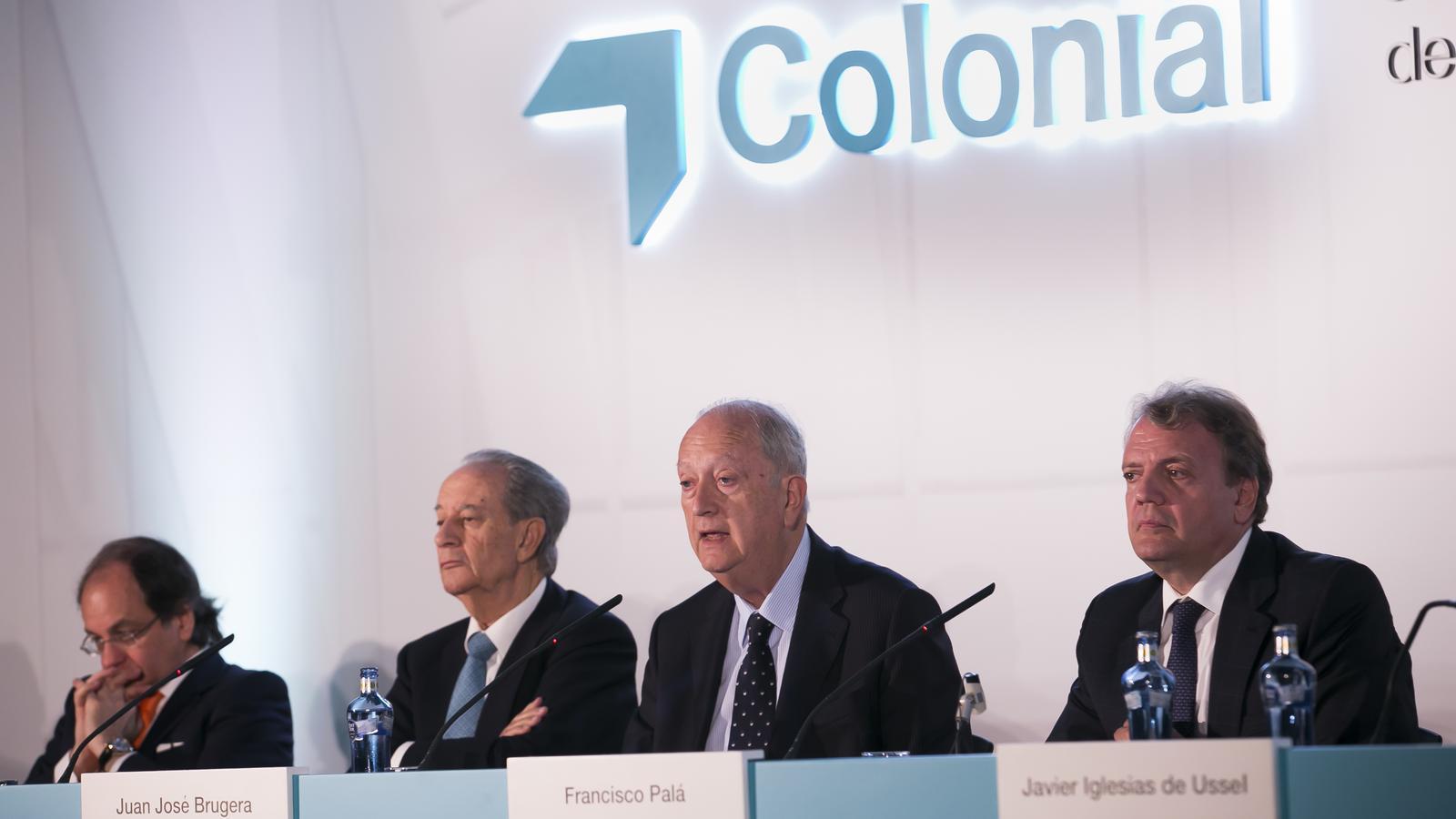 Aprofitant la junta Colonial ha modernitzat el seu logo.