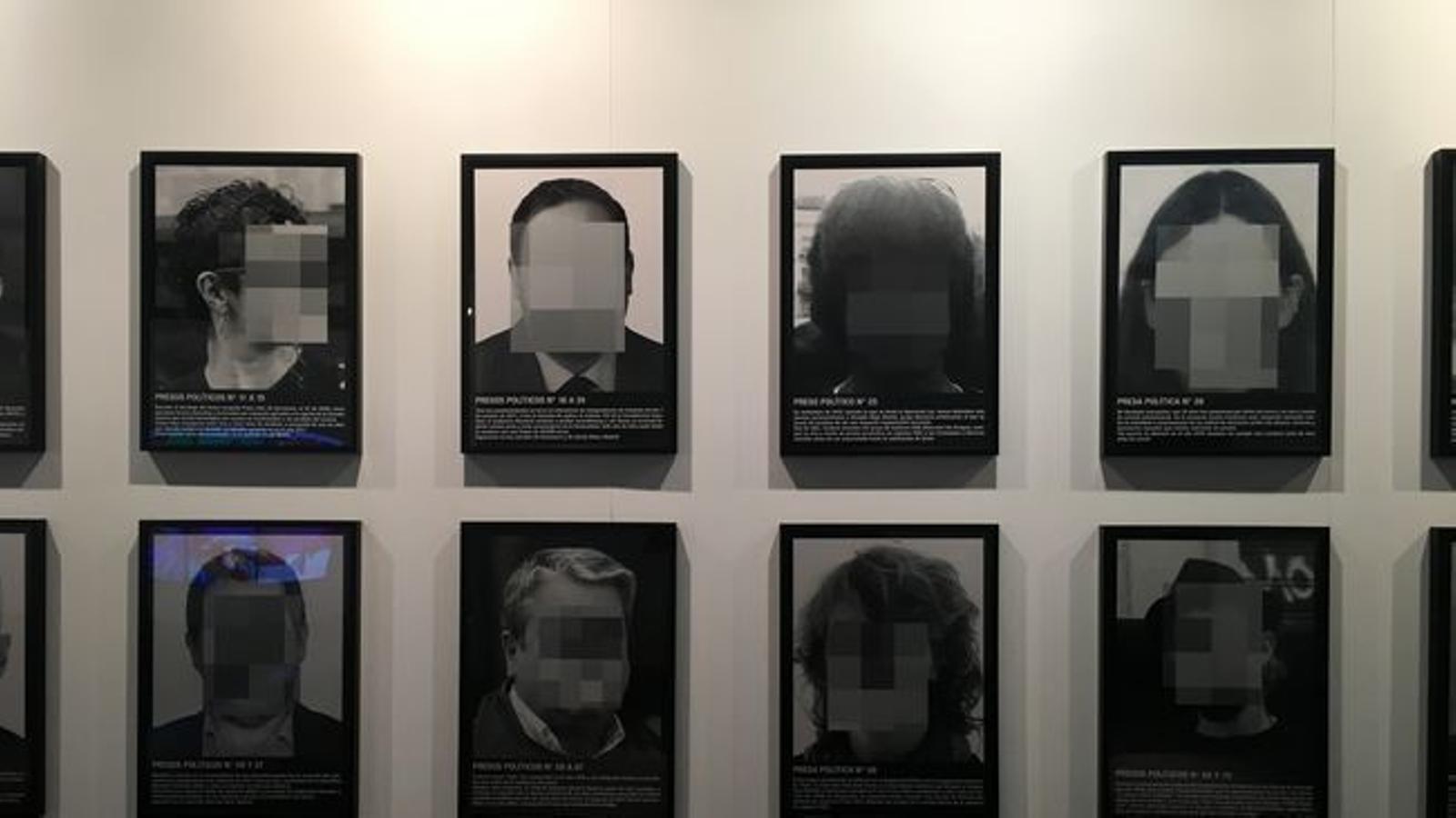 Arco retira la peça de Santiago Sierra sobre els presos polítics