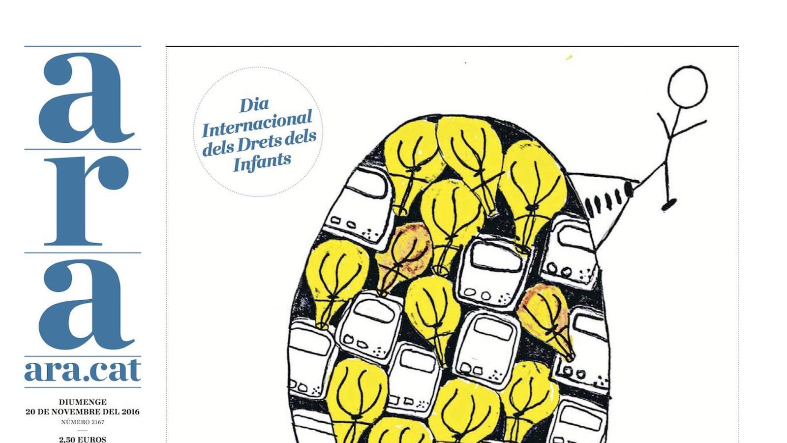 El consumisme dibuixat pels nens, a l'ARA especial de diumenge