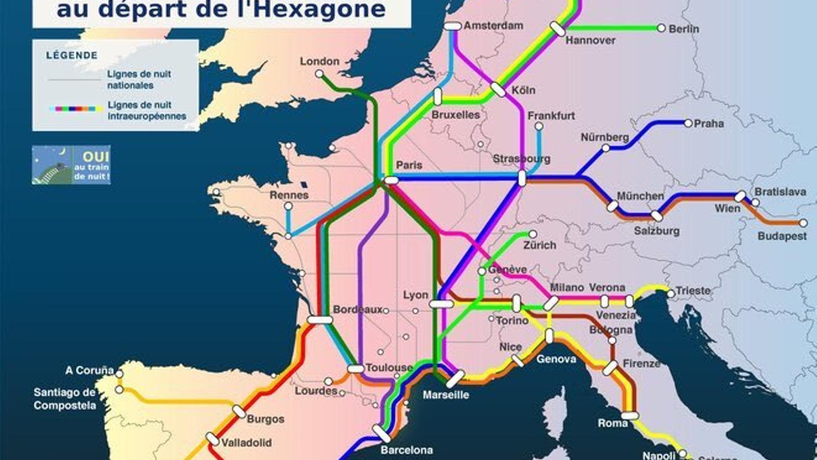 El plantejament de la SNCF per al 2030. /  SNCF