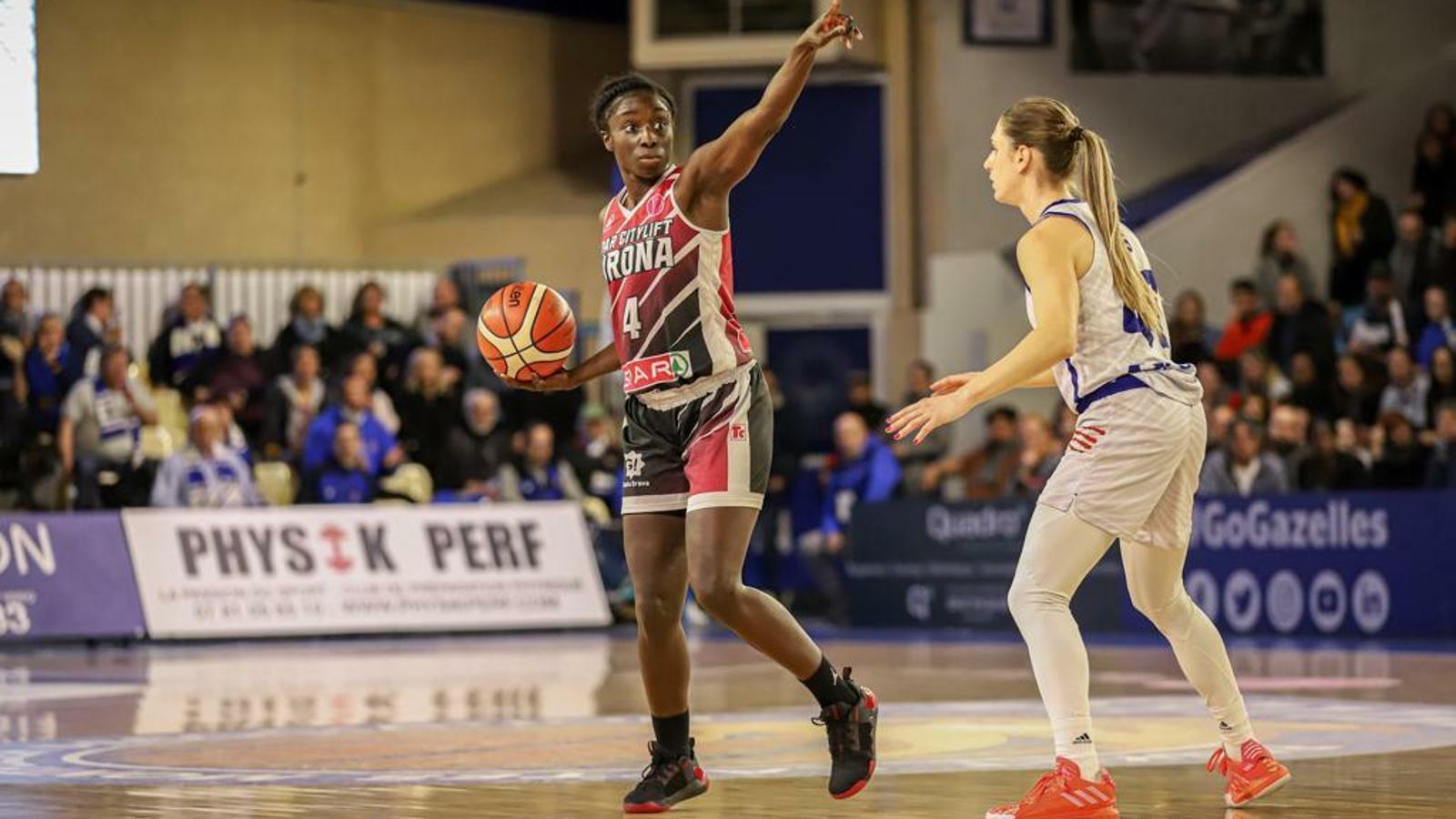 Magali Mendy, jugadora de l'Spar Citylift Girona