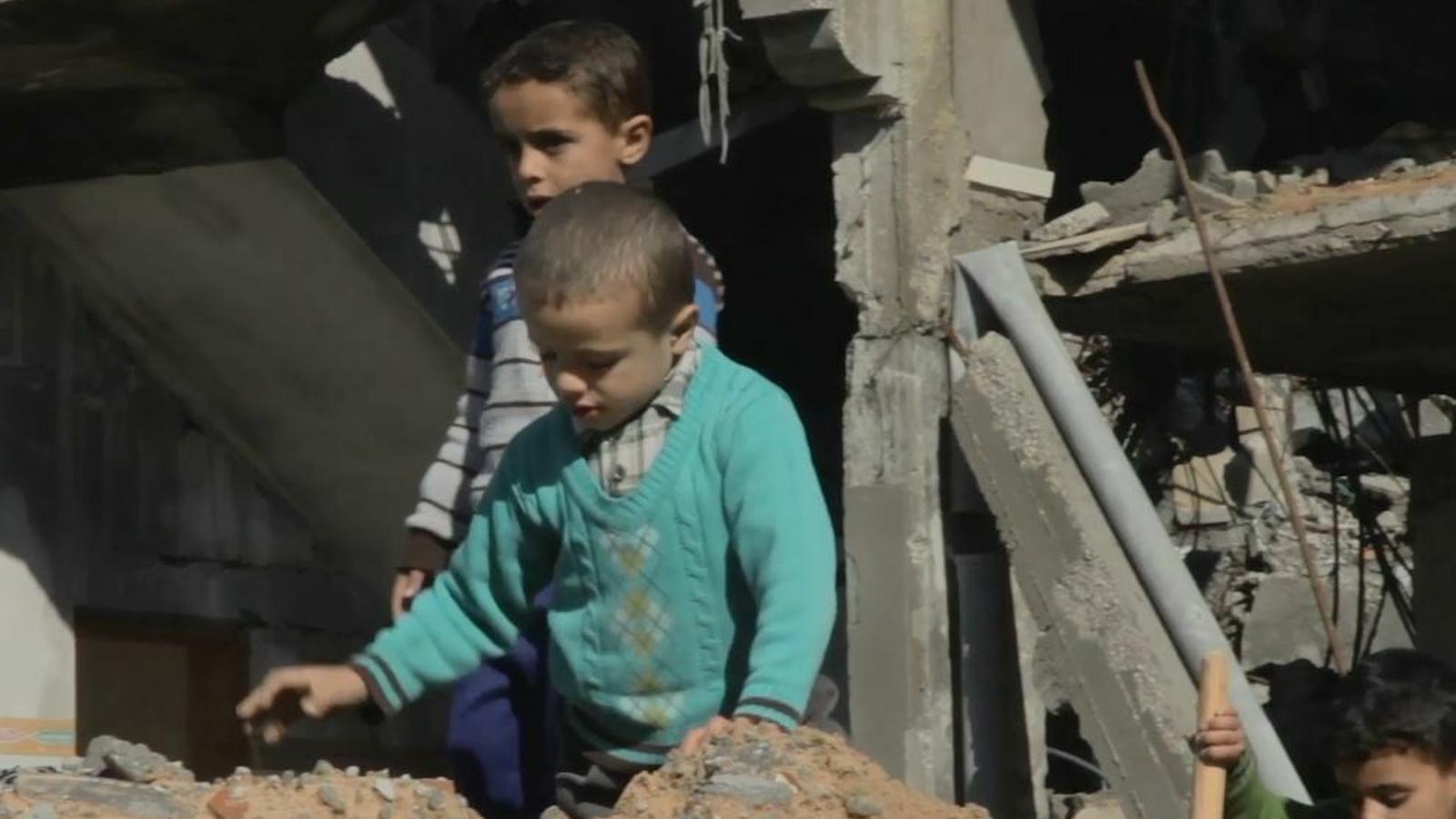 Imatge del tràiler del documental 'Gaza'